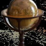 Globus mit Bar im Weltkugel Design