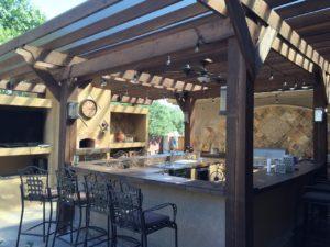 Holz Gartenbar kaufen zum Grillen