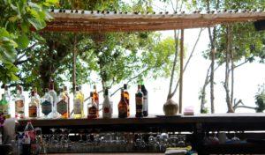 Outdoor Bar im Sommer