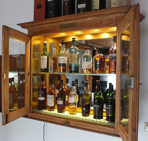 ᐅ Whisky-Schrank - Cabinet BoardBar-Schrank.de